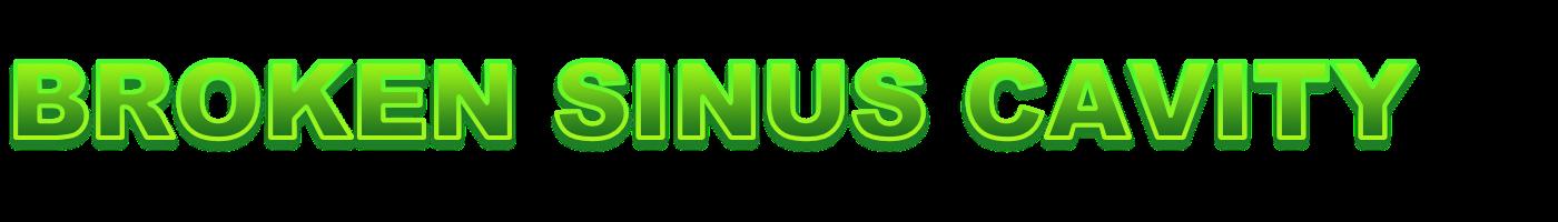 Broken Sinus Cavity Retina Logo